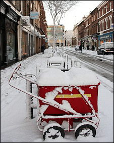 Snow in Carlisle