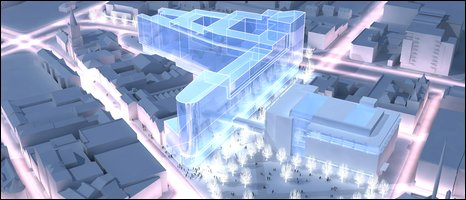 Image of how Belfast campus will look