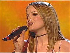 UK's 2002 Eurovision singer Jessica Garlick