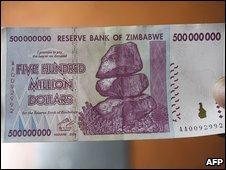 Z$500 million note