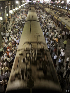 Train station in India (Image: AP)
