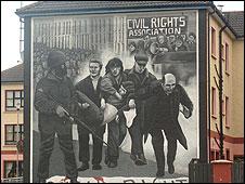 Mural, Bogside, Derry