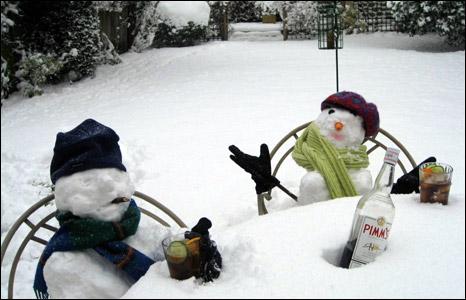 Snowmen Pimms