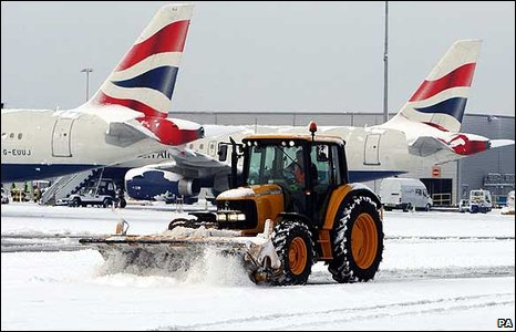 Aircraft at Heathrow