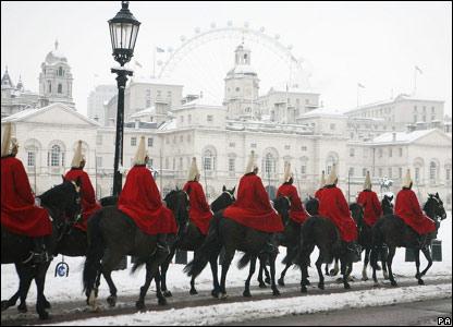 Смена караула королевской гвардии в