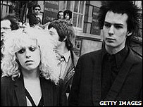Nancy Spungen y Sid Vicious