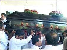 Funeral in Sri Lanka