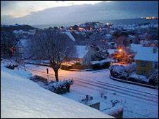 Falmouth snow