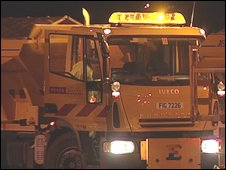 More than 125 gritters worked overnight in Northern Ireland