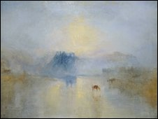 Norham Castle, Sunrise by JMW Turner