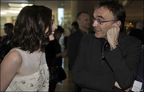 Anne Hathaway and Danny Boyle