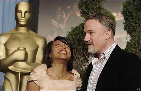 Taraji P Henson and David Fincher