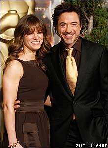 Robert Downey Jr with his wife Susan