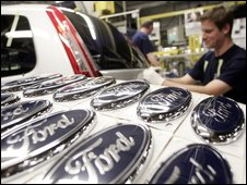 Ford assembly line in Germany