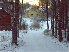 Niall's house in Finland