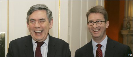Gordon Brown and Lord Carter