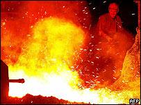 Industria de acero. (Foto de archivo)