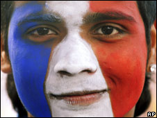 French face paint