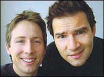 Joe Cornish and Adam Buxton