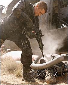 Christian Bale in Terminator: Salvation