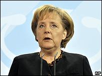 Angela Merkel, canciller de Alemania (imagen de archivo)