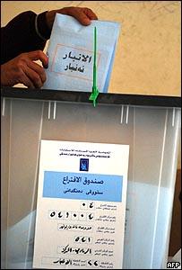 اقتراع في الأنبار