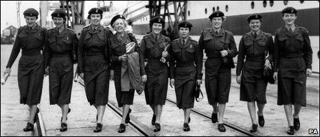 Women in the WRAC in 1958