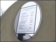 M62 coach bombing memorial