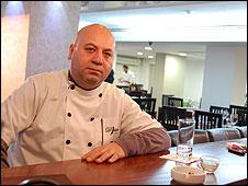 Dokhol Safadi, restaurant owner, Nazareth