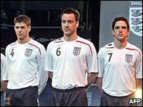 England kit launch