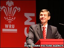 WRU chief executive Roger Lewis