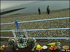 Shrine at Morecambe Bay