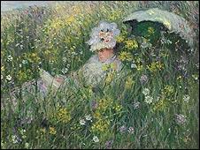 Dans La Prairie by Claude Monet