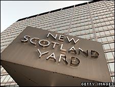 The exterior of Scotland Yard