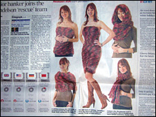 The Magic Scarf 'story' in the Telegraph
