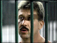 Viktor Bout in jail in Thailand