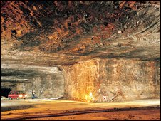 Salt mine (photo courtesy of saltsense.co.uk)