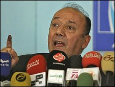 Faraj al-Haidari, chairman of the Iraq election commission (01/02/09)