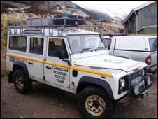 Cairngorm MRT vehicle