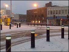 Stoke-on-Trent snow