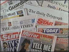UK newspapers in the 1990s