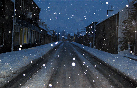 Snow in Rothes [Pic: Allan Ross]