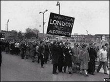 Aldermaston march 1960