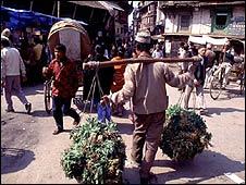 Nepalese market