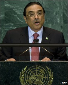 President Zardari of Pakistan