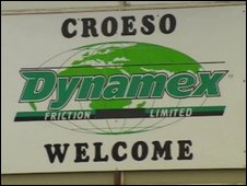 Friction Dynamex sign