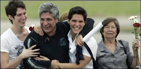 Former Farc hostage Sigifredo Lopez in Cali, 05/02