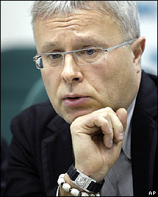 Russian billionaire and ex-KGB agent, Alexander Lebedev