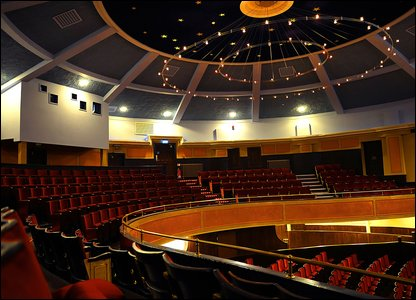 Interior of the Hippodrome in Bo'ness