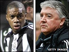 Charles N'Zogbia and Joe Kinnear